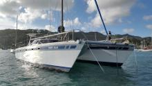 One off Catamaran 50' one off : Au mouillage en Martinique